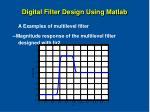 digital filter design using matlab39