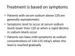 treatment is based on symptoms