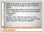 what are magnet summaries in your own words21