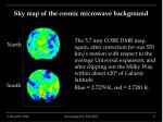 sky map of the cosmic microwave background6