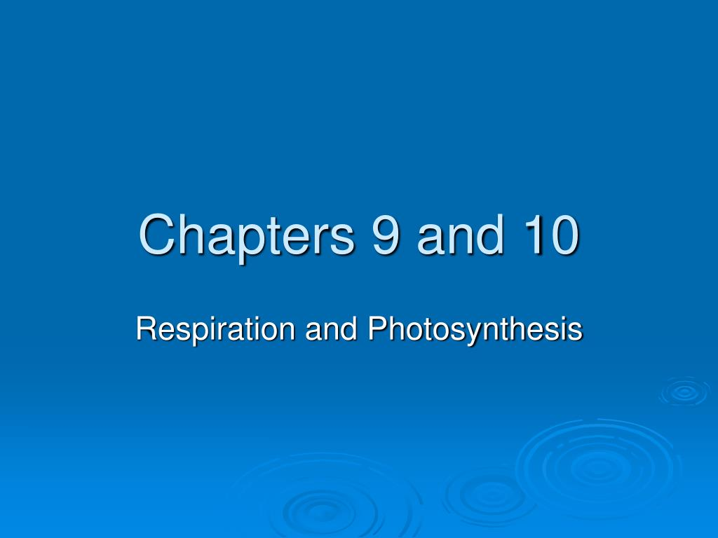 chapters 9 and 10 l.