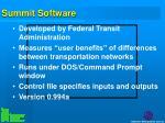 summit software