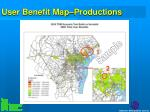 user benefit map productions