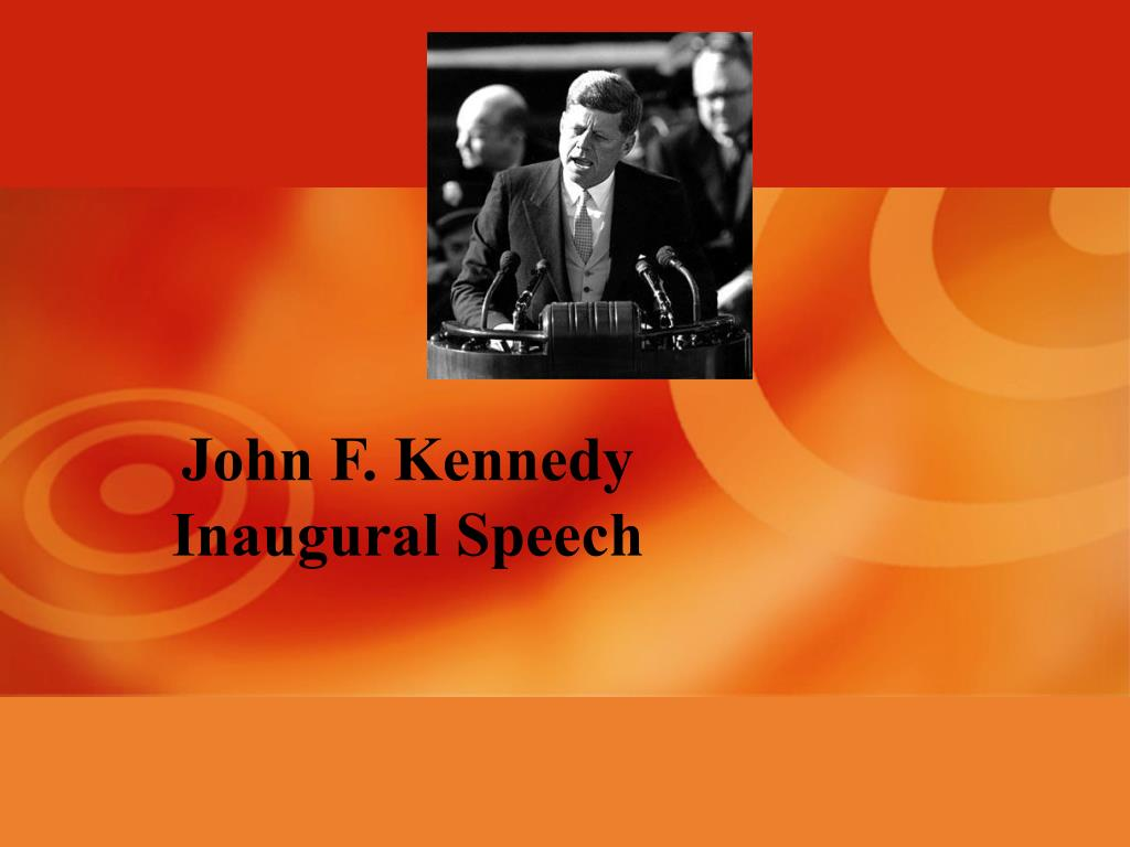john f kennedy inaugural speech l.