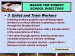 basics for sunday school directors10
