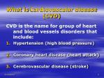 what is cardiovascular disease cvd