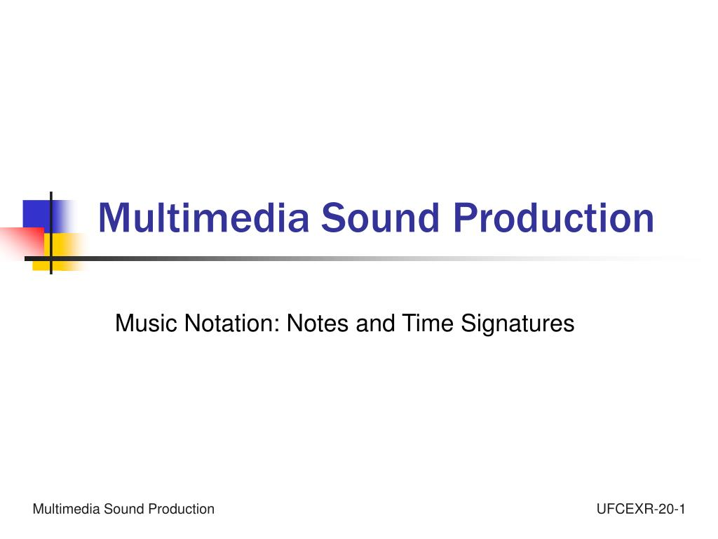 multimedia sound production l.