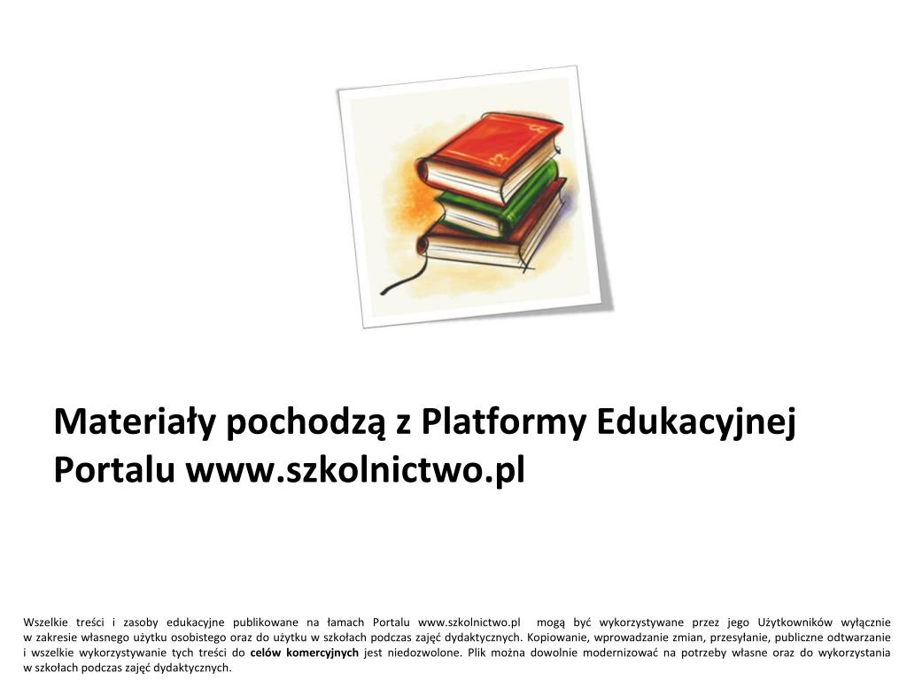 materia y pochodz z platformy edukacyjnej portalu www szkolnictwo pl l.