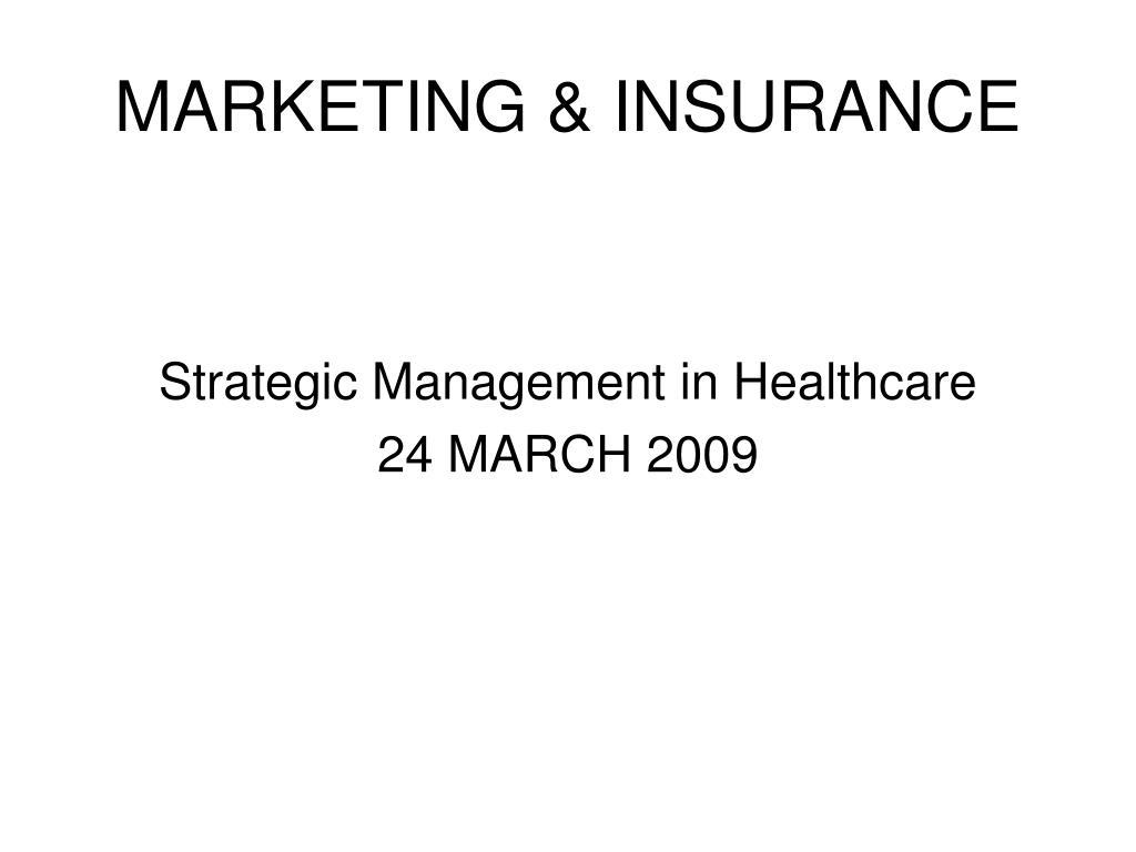 marketing insurance l.