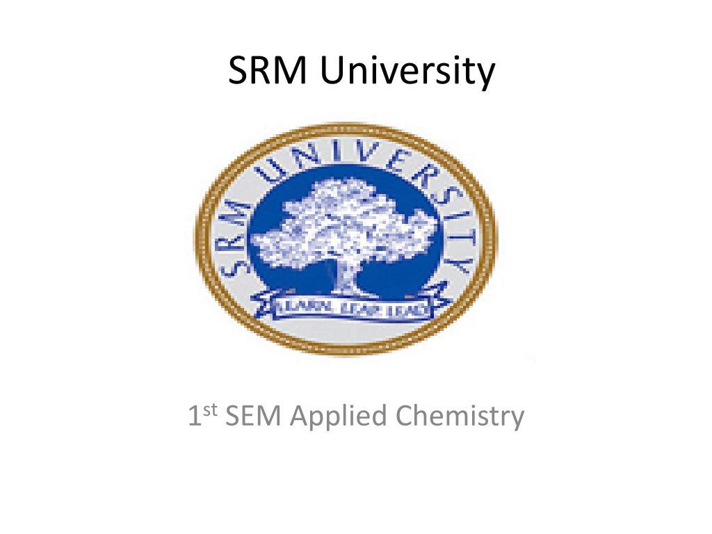 srm university l.
