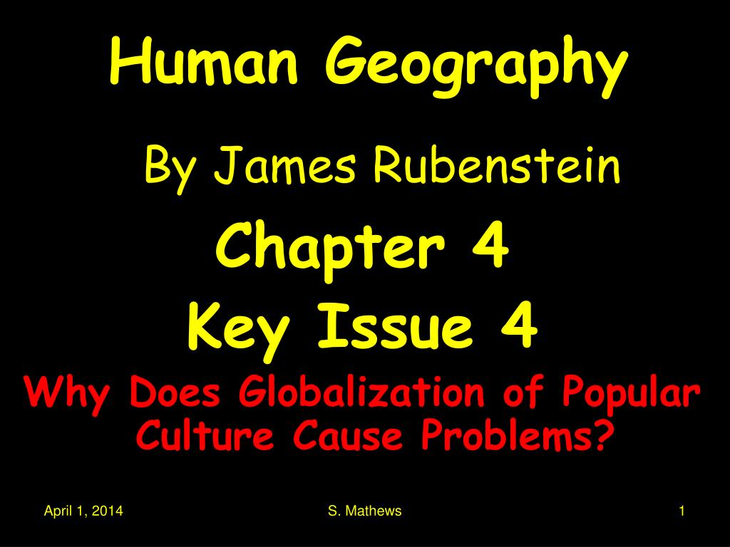 human geography by james rubenstein l.