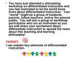 differentiation profiler