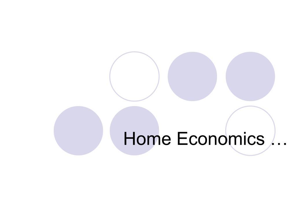 home economics l.