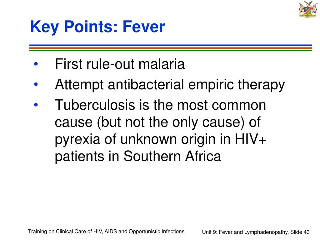 Key Points: Fever