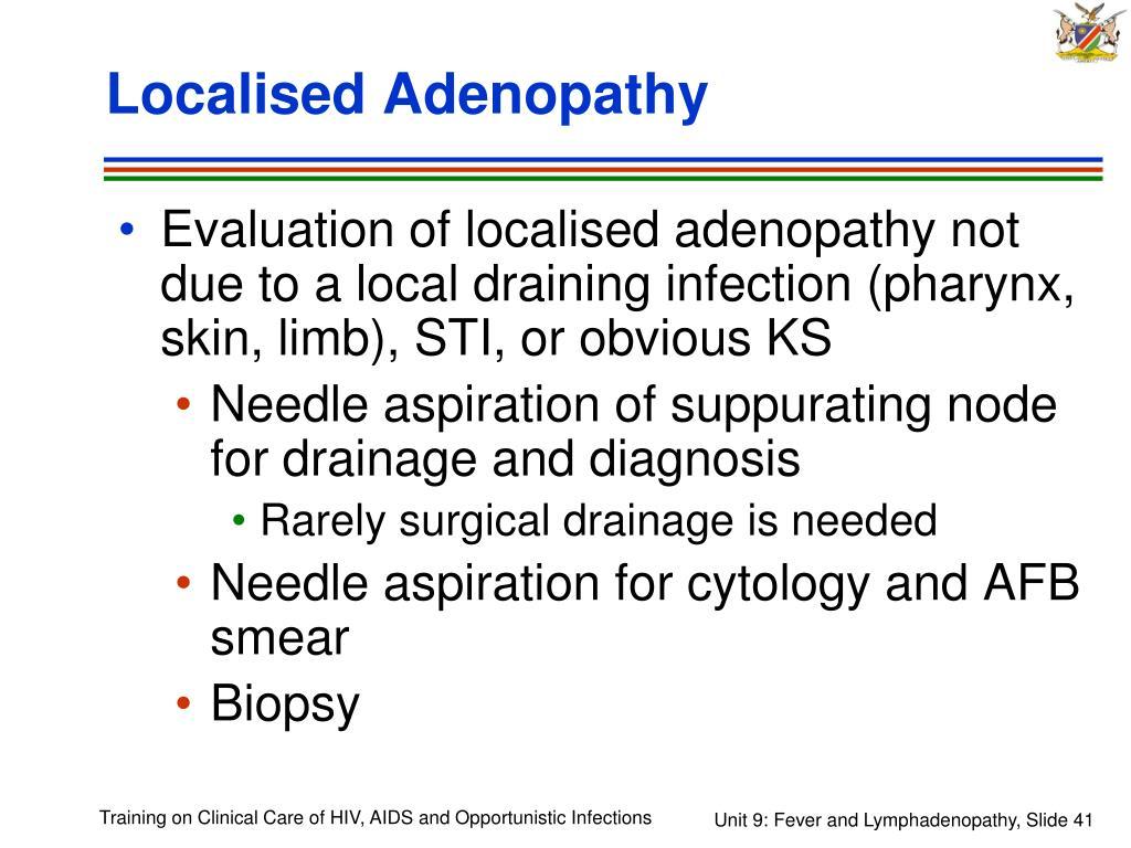 Localised Adenopathy