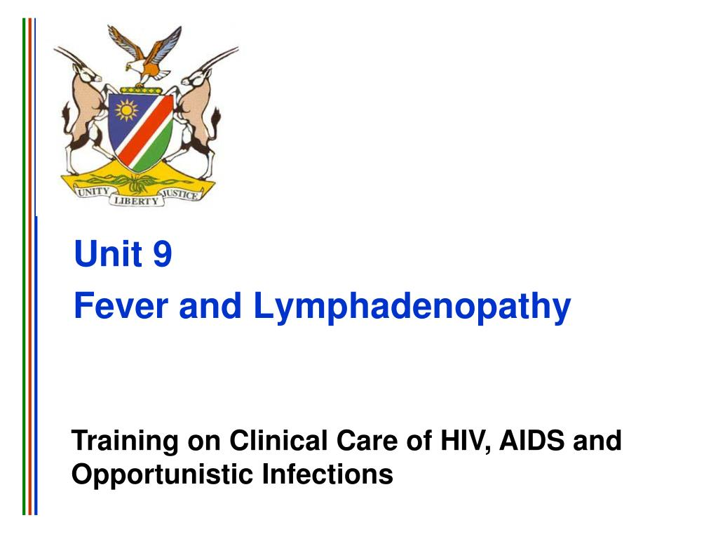 unit 9 fever and lymphadenopathy l.