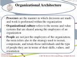 organizational architecture6
