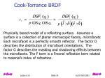 cook torrance brdf