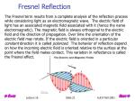 fresnel reflection