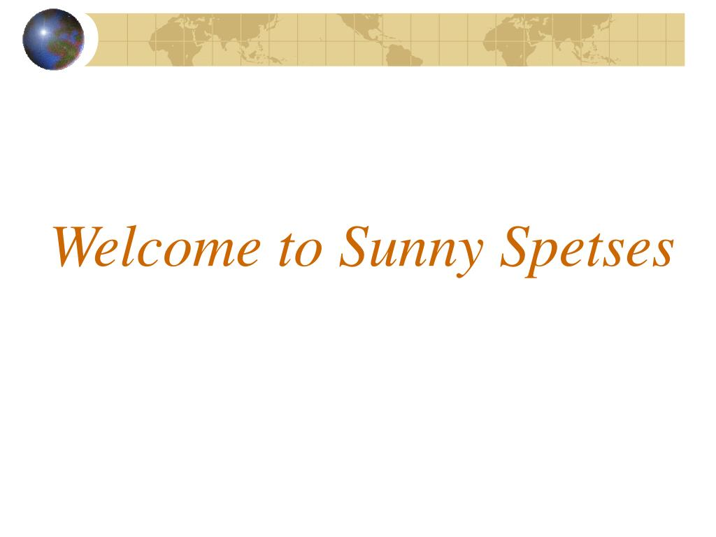 welcome to sunny spetses l.