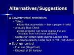alternatives suggestions