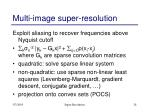 multi image super resolution