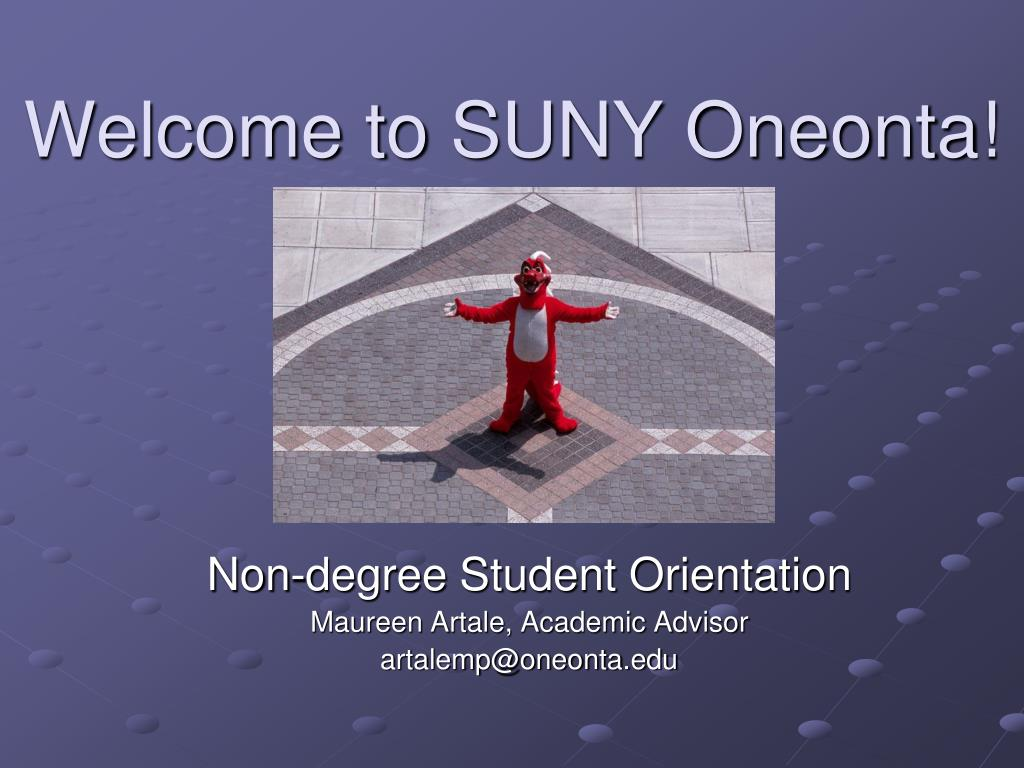 welcome to suny oneonta l.