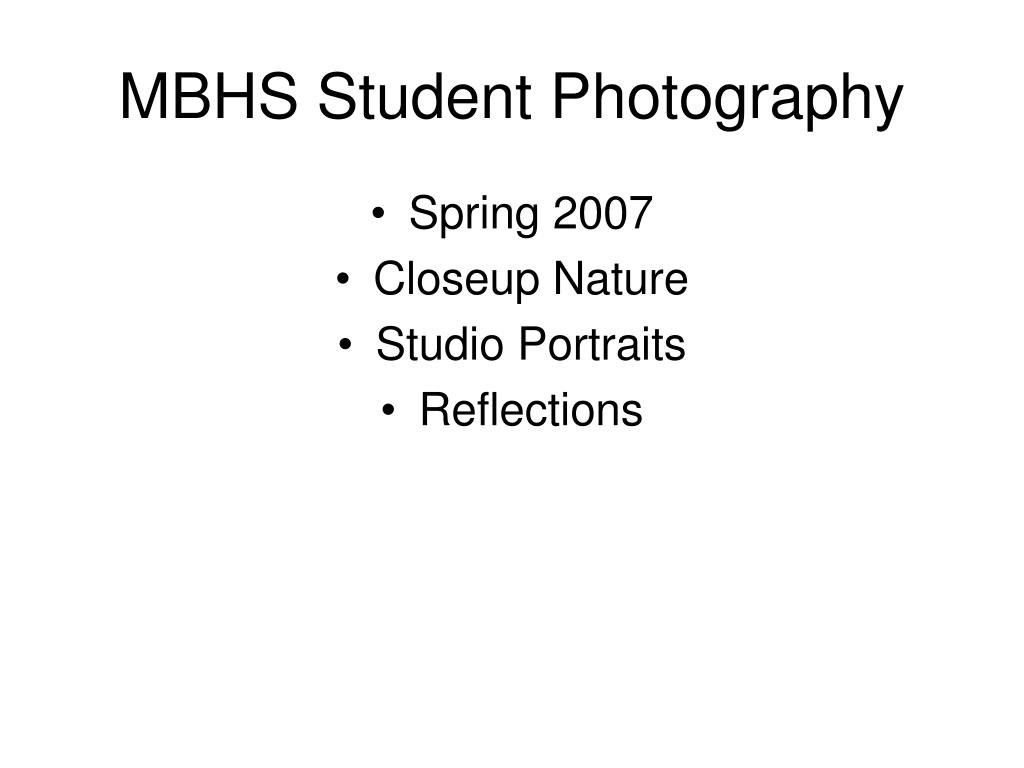 mbhs student photography l.