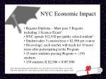 nyc economic impact