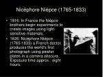 nic phore ni pce 1765 1833