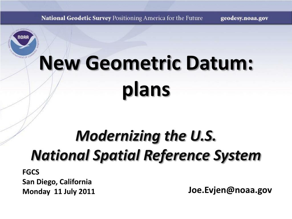 new geometric datum plans l.