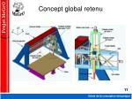 concept global retenu