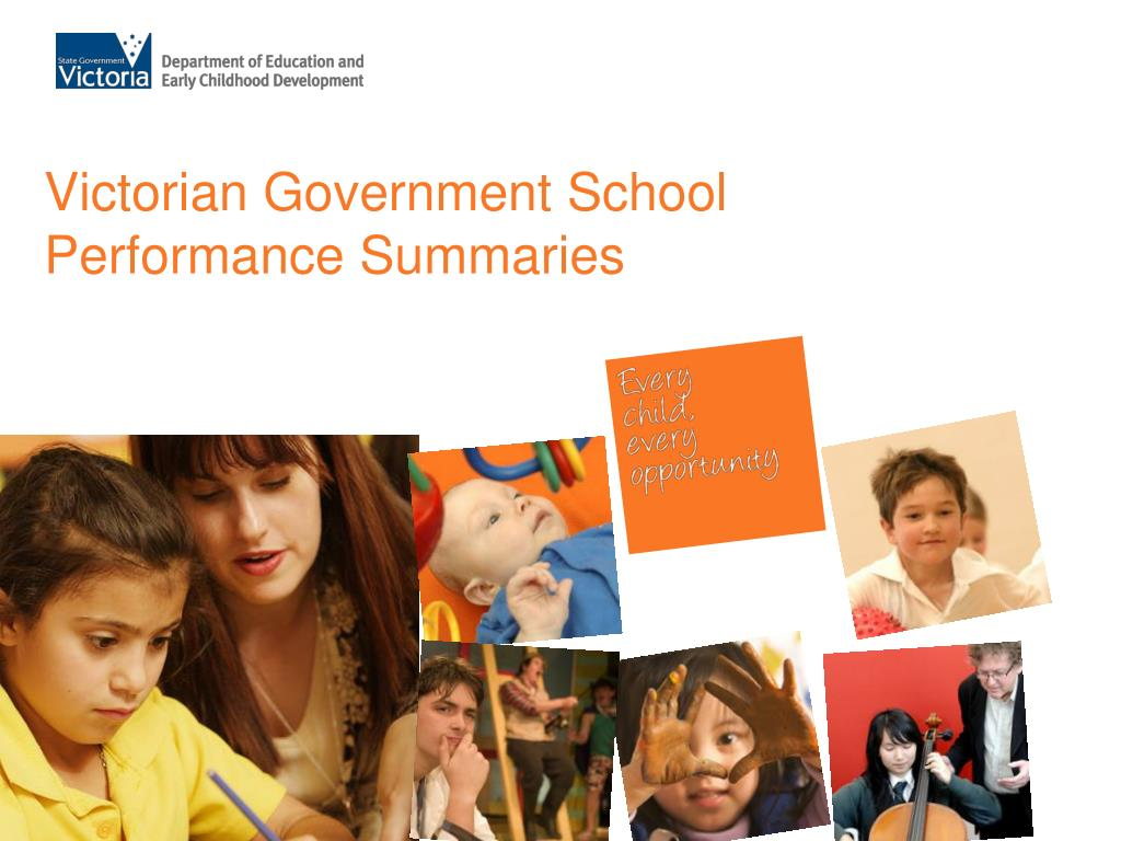 victorian government school performance summaries l.