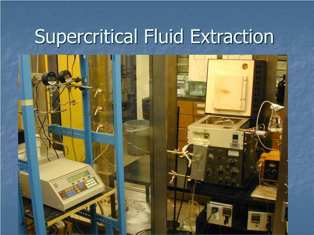 supercritical fluid extraction l.