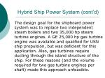 hybrid ship power system cont d25