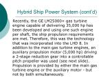 hybrid ship power system cont d26
