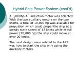hybrid ship power system cont d31