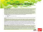 icebreakers groups