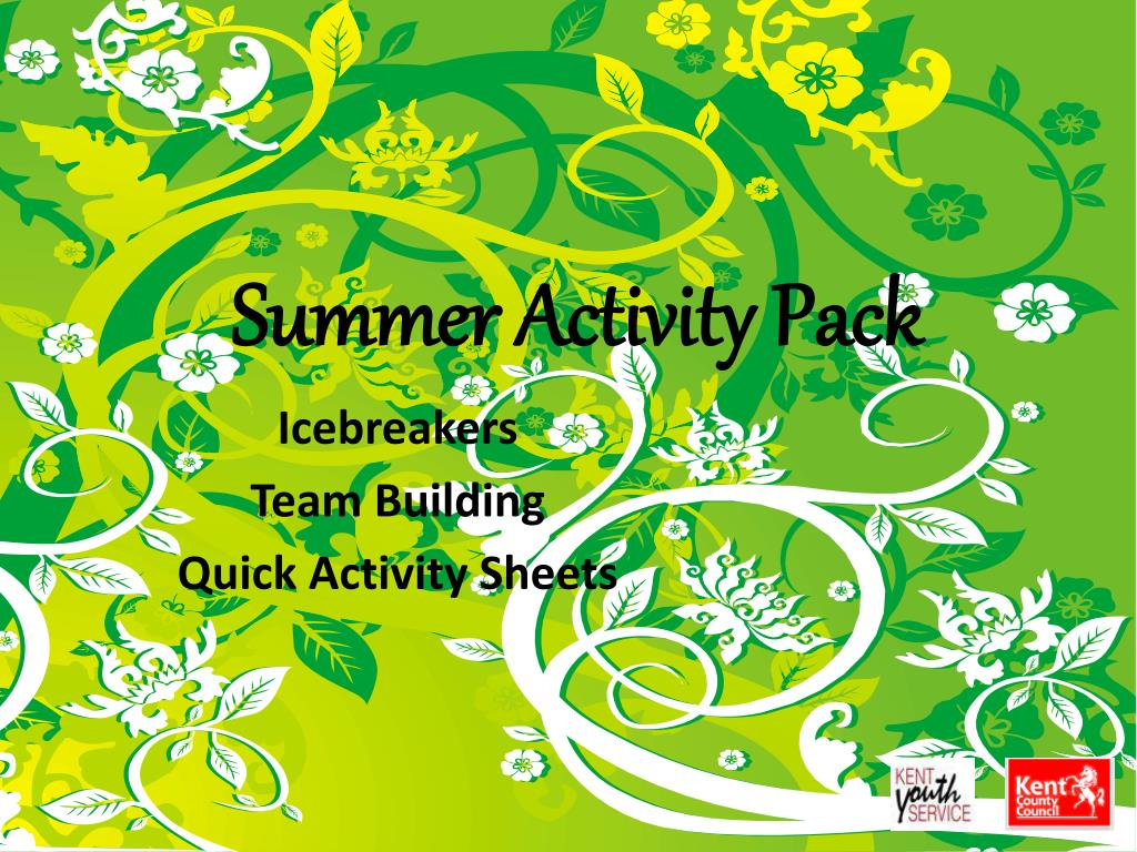 summer activity pack l.