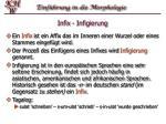 infix infigierung