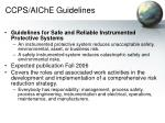 ccps aiche guidelines