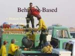 behavior based72