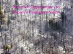 research opportunities to improve firefighter safety