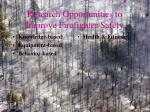 research opportunities to improve firefighter safety50