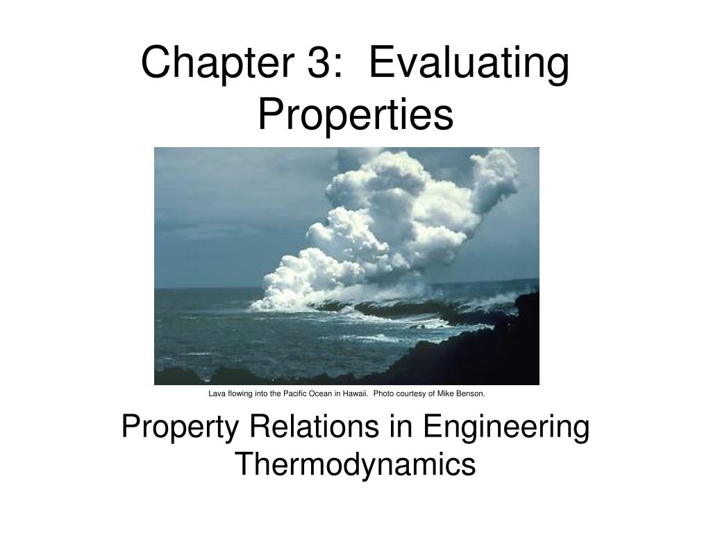 chapter 3 evaluating properties l.