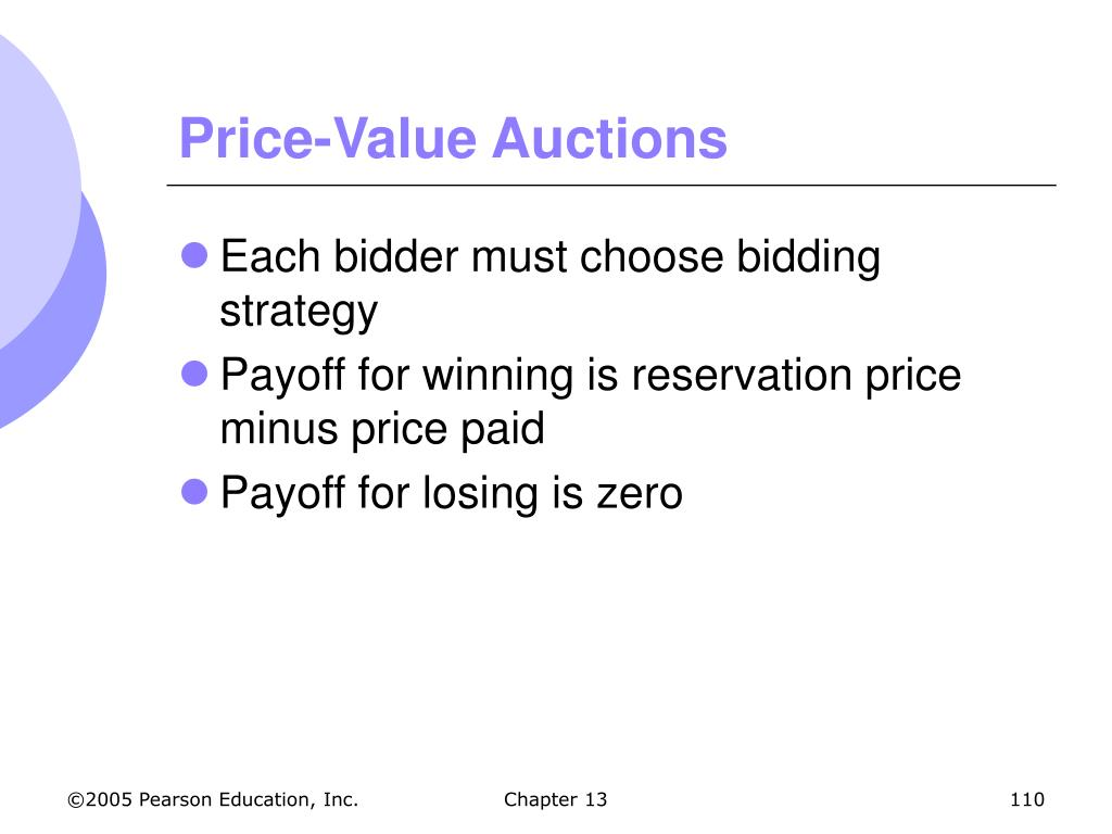 Price-Value Auctions