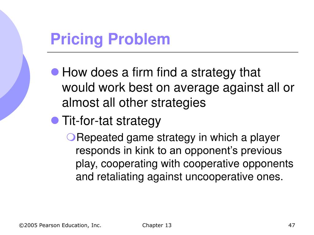 Pricing Problem