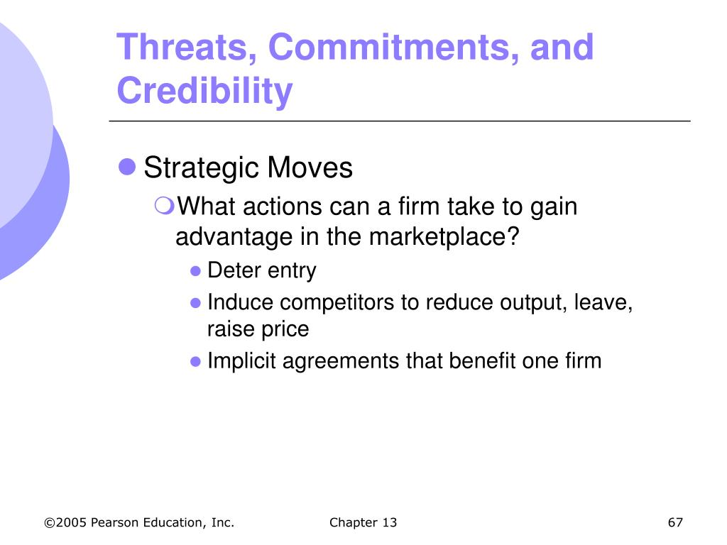 Threats, Commitments, and Credibility