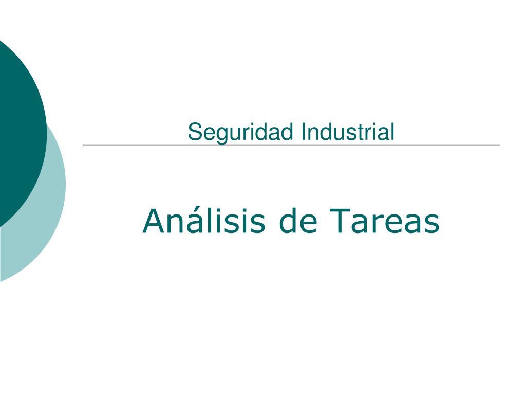 seguridad industrial l.