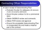 contracting officer responsibilities16